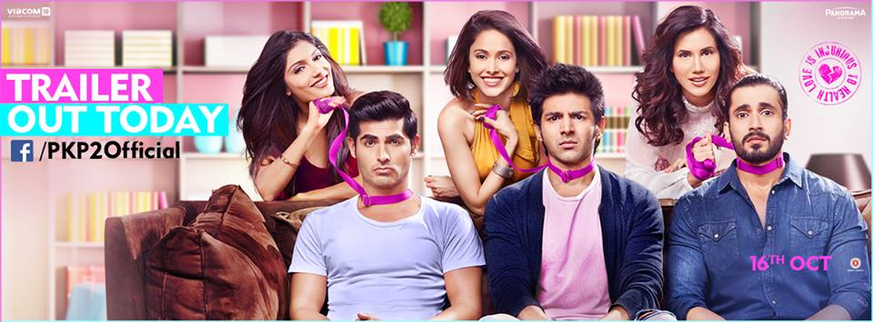 Comedy Pyaar Ka Punchnama 2 Movie Trailer HD Video Released