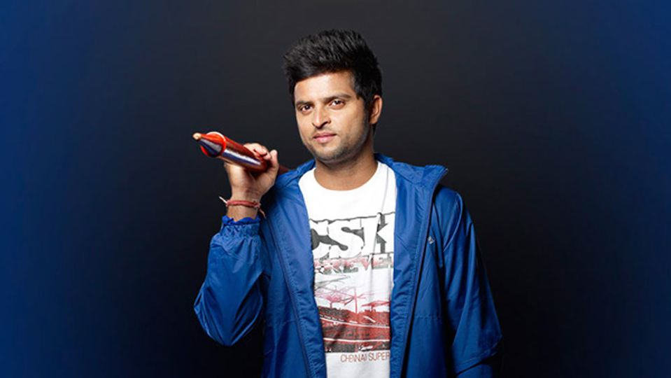 Cricketer Suresh Raina To Make His Bollywood Singing Debut