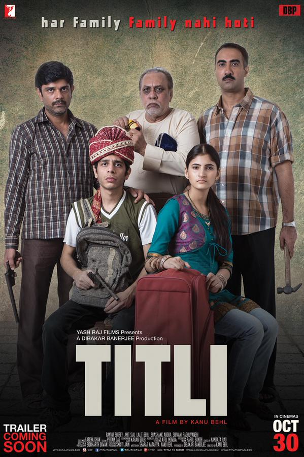 Dibakar Banerjee's And Yash Raj Films Upcoming Titli Movie Poster Released
