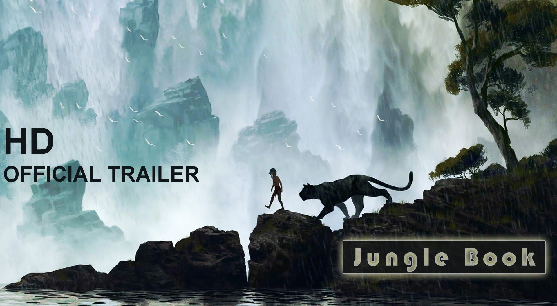 Disney Releases Hollywood Jungle Book Movie Official Trailer