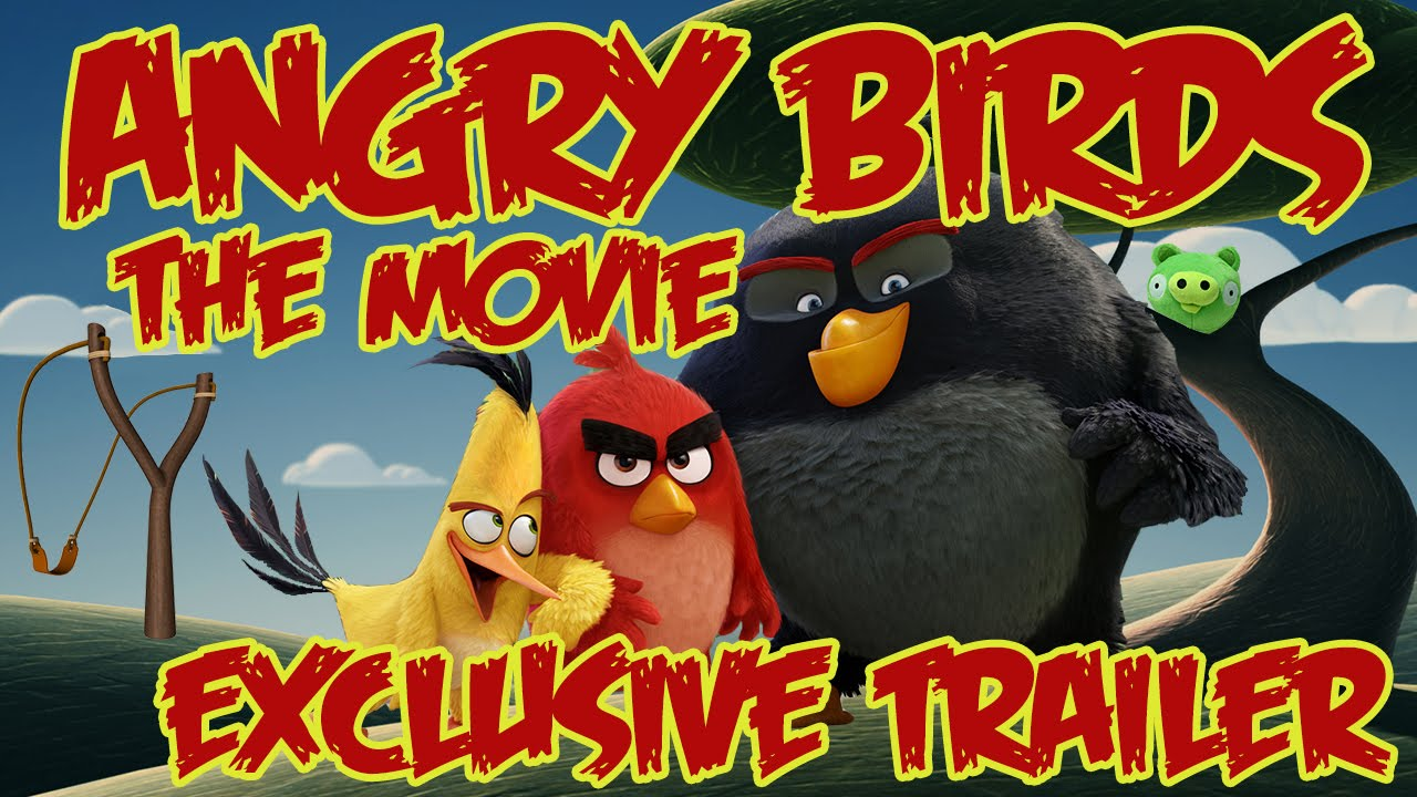 Finally! The Angry Bird Movie 1st Official Trailer HD Video Released