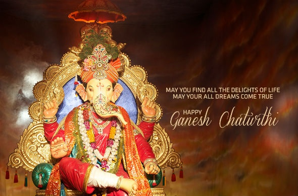 Happy Ganesh Chaturthi Whatsapp Status FB DP