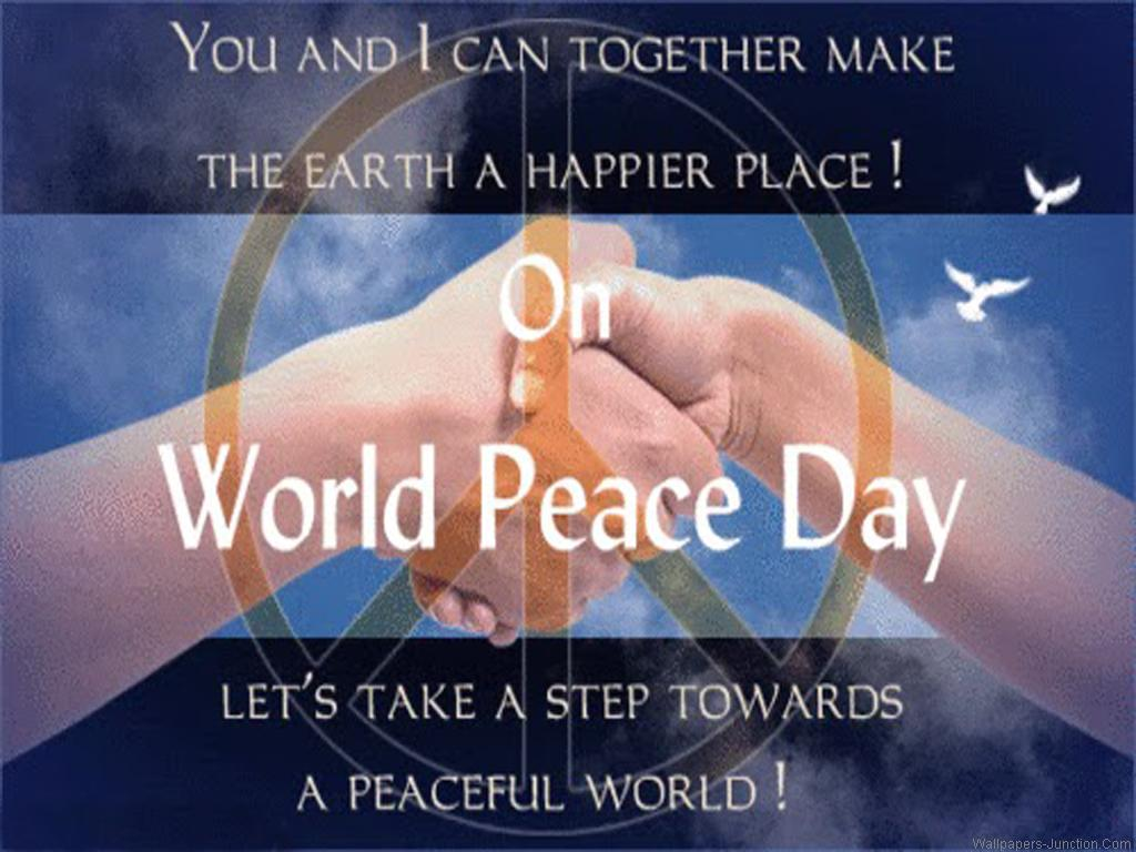 Happy International Day of Peace 2015