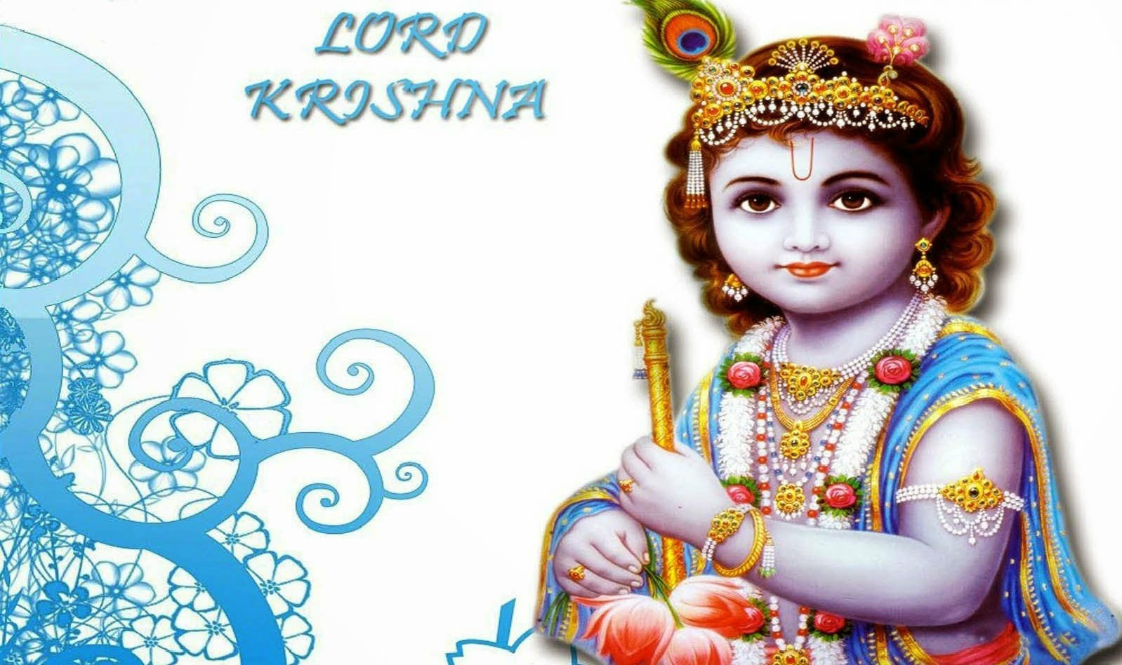 Happy Janmashtami Krishna HD Wallaper