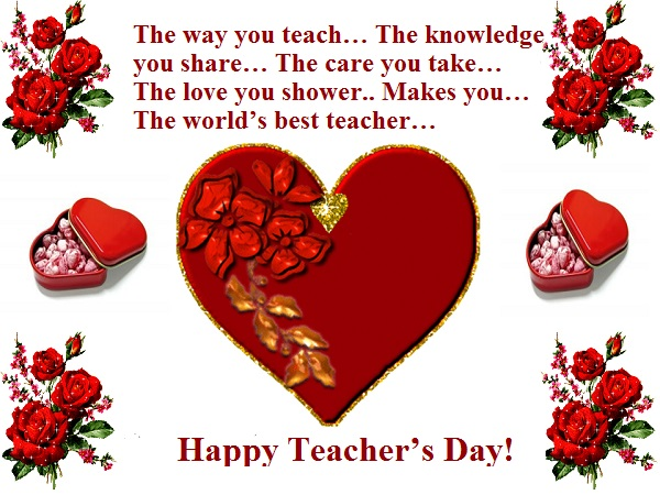 Happy Teachers Day Whatsapp FB DP 2015