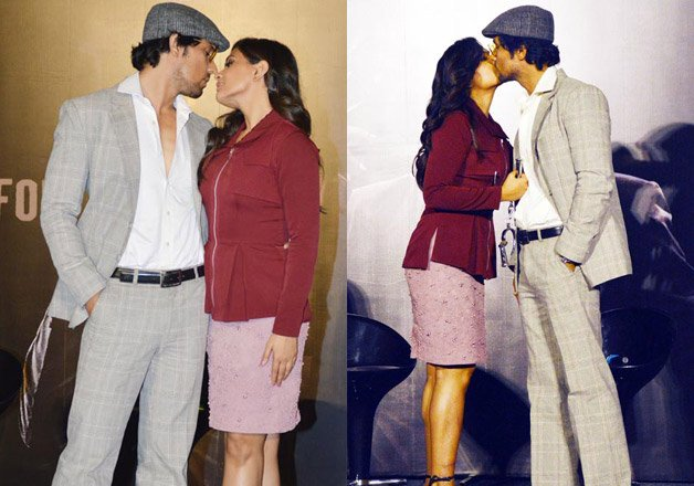 Randeep Hooda & Richa Chadha Kiss Pictures