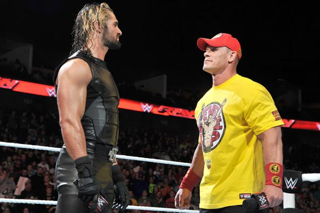 John Cena Rematch Against Seth Rollins For WWE Universe United States Championship 2015