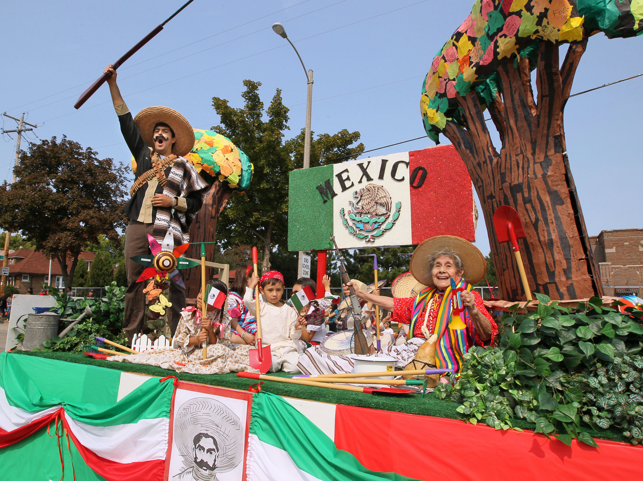 Mexico Independence Day parade