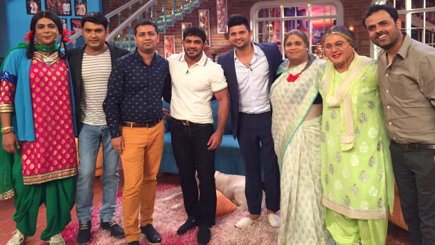 Suresh Raina & Sushil On Sets Of Comedy Night With Kapil 6 Sep 2015 Episode Details