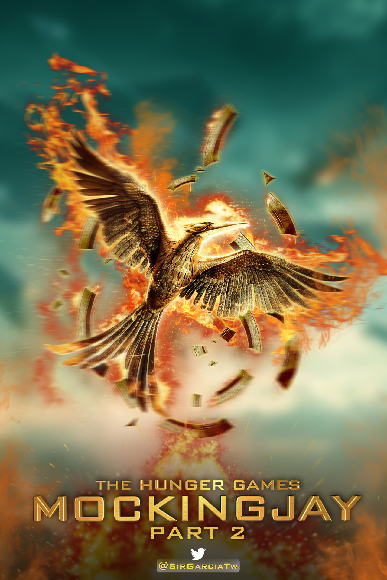 The Hunger Games Mocking Jay Part 2 Poster Launched