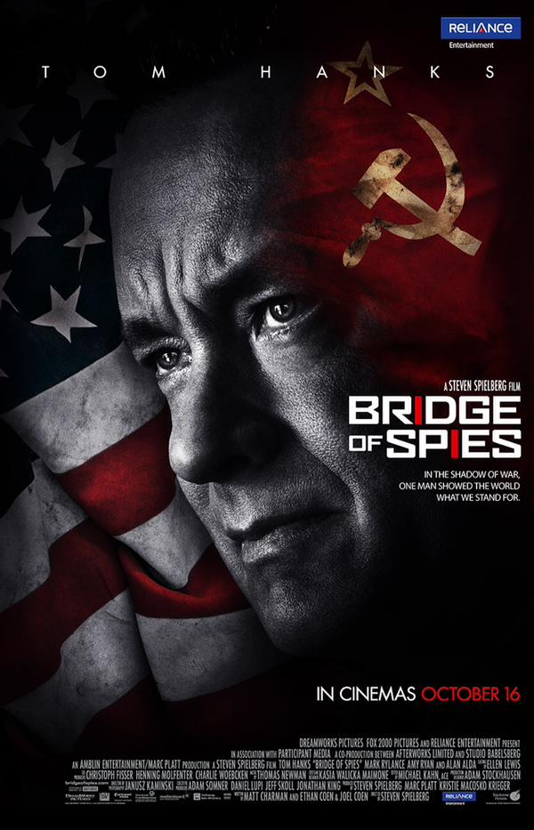 Tom Hanks Upcoming Bridge Of Spies Movie Poster