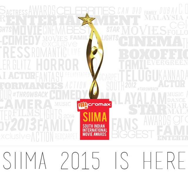 Tonight! Watch SIIMA Awards 2015 Live Streaming Winner List All Performance Video