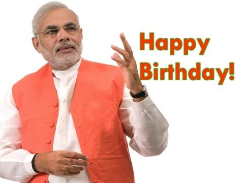 Wish You Happy 65th Birthday PM Narendra Modi Ji