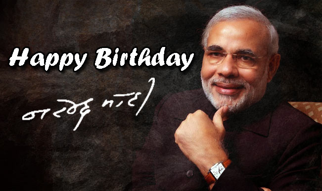 Wish You Happy Birthday Narendra Modi Ji
