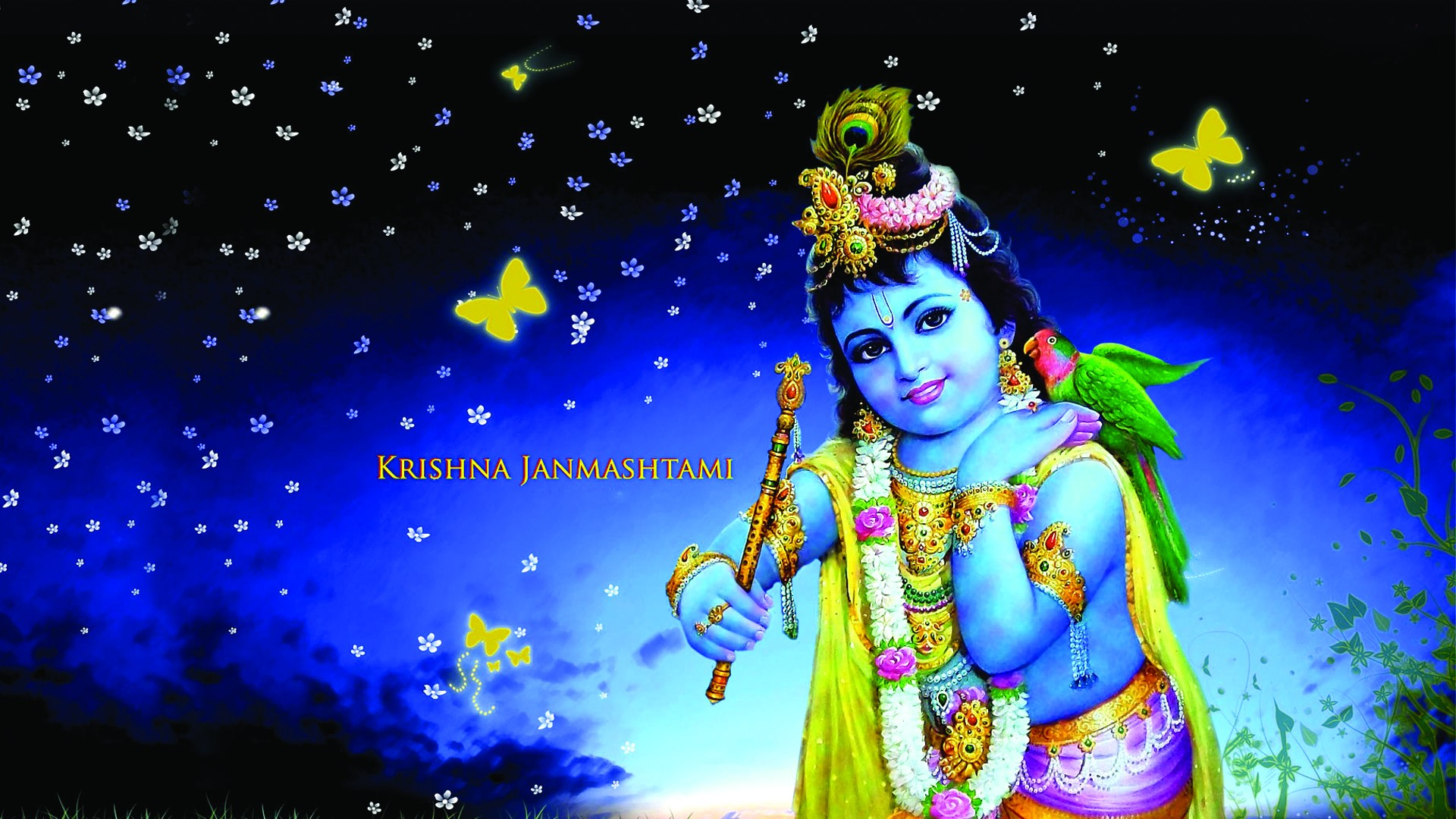 Shri Krishna Janmashtami Special : 10 Songs Bhajan Whatsapp Hd Video Bollywood