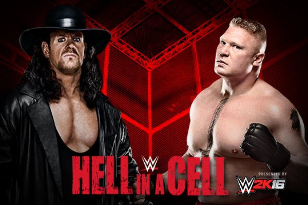 Watch Brock Lesner vs Undertaker in Hell in a Cell on October 23, 2015 Live Streaming Video Prediction Results