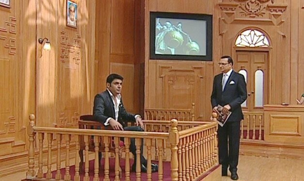king Of Comedy Kapil Sharma At Aap Ki Adalat 19th Sept 2015 Episode Video With Rajat Sharma