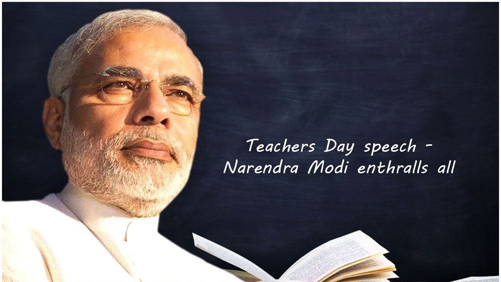 Pm Narender Modi Speech on Teacher's Day