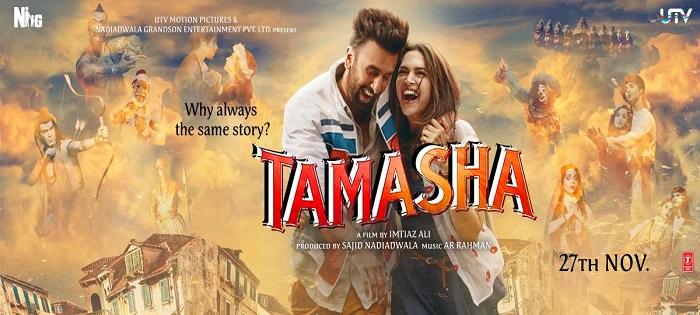 Romantic Tamasha Movie Official Trailer Hd Video Ranbir Kapoor Deepika Padukone Release Date