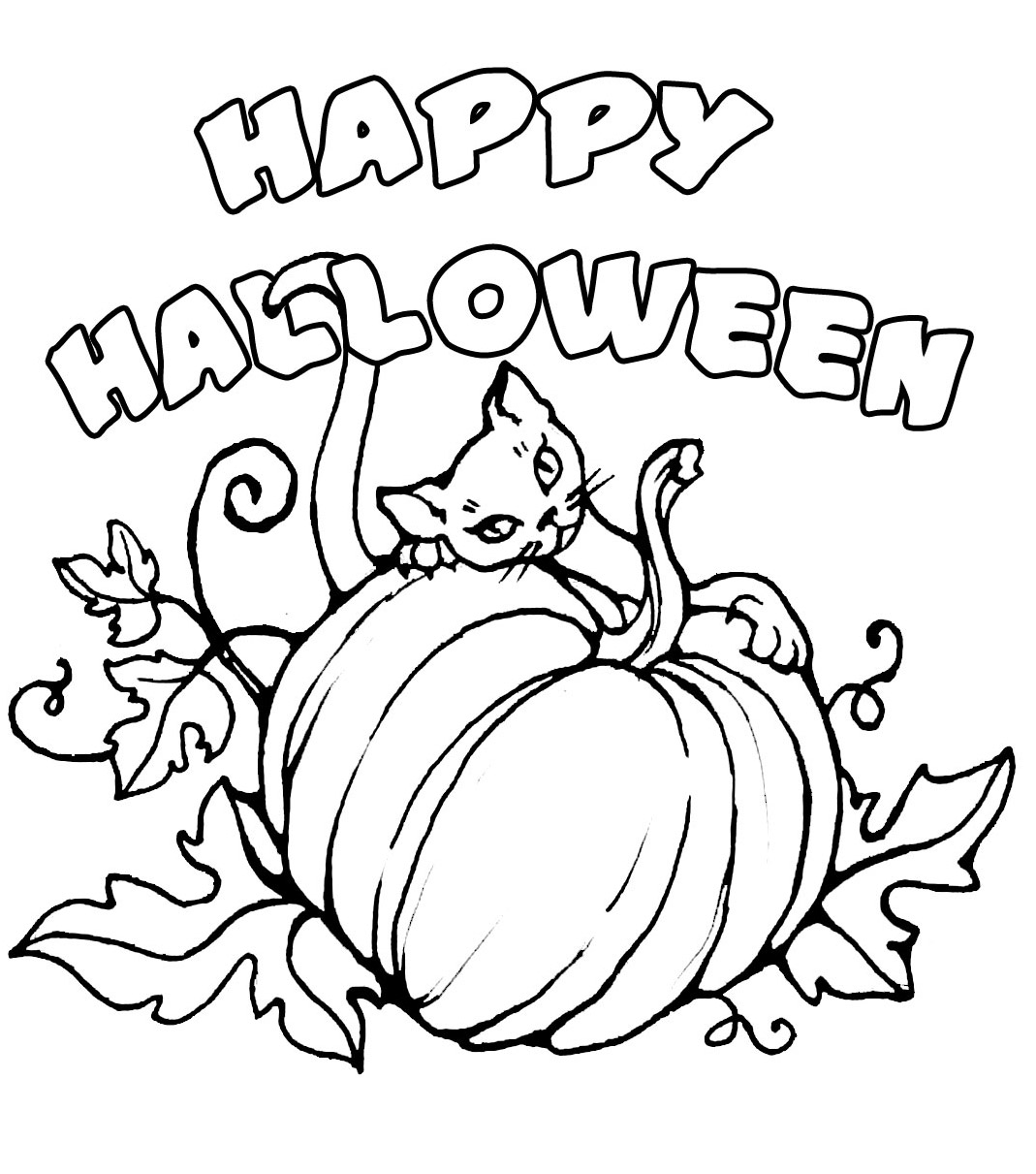 Halloween Day Drawings To Print Images