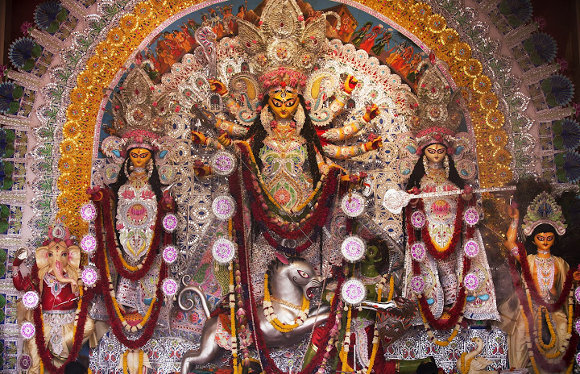 Happy Durga Puja 2015 SMS Greetings Images