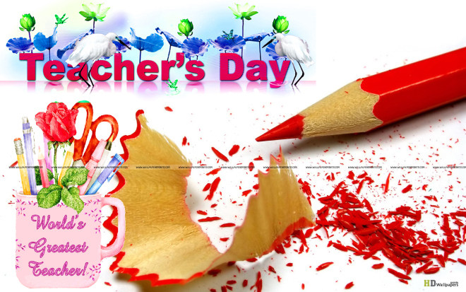 Happy World Teacher's Day ishes