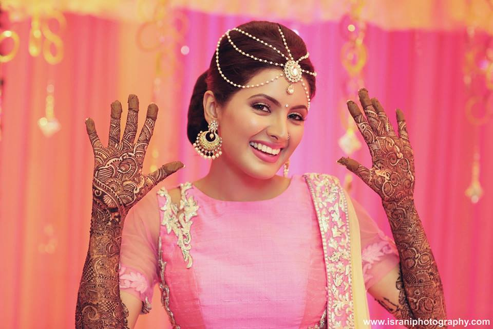Harbhajan Singh And Geeta Basra Mehendi Ceremony