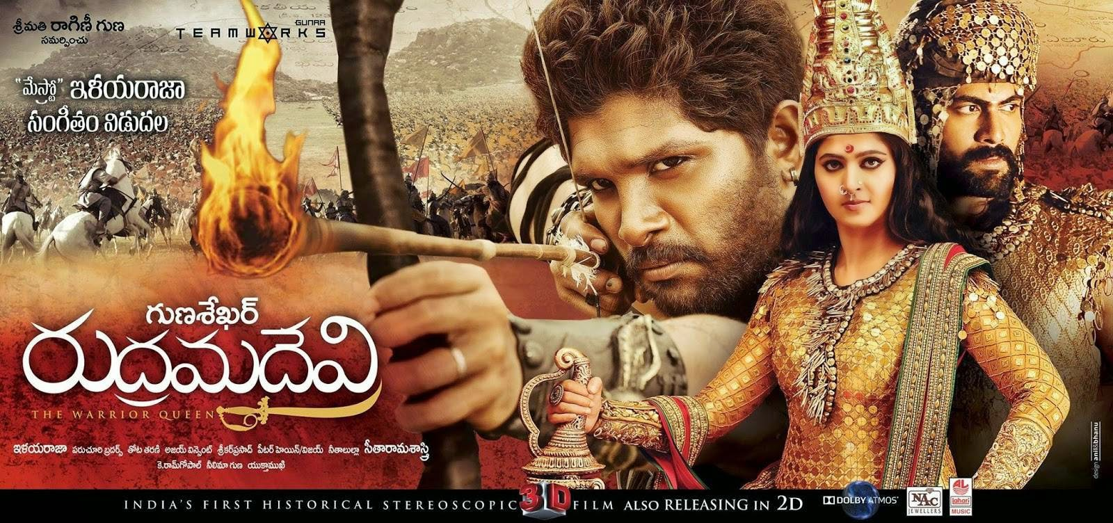 Historical! Tamil Rudhramadevi Movie Review Rating 1st Day Box Office Collection