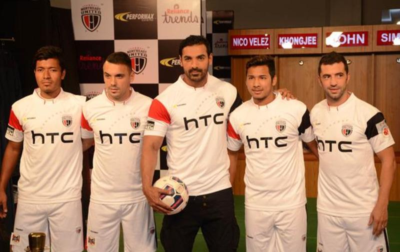 ISL 2015 NorthEast United FC Guwahati Team Squad Players List Captain Name