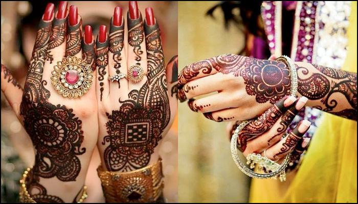 Karva Chauth Mehendi Designs For Hands Images Photos Video
