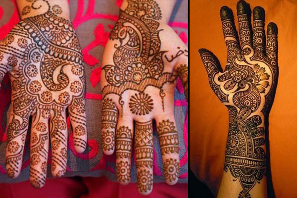 Karva Chauth Mehendi Designs For Hands