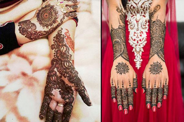 Karva Chauth Mehendi Designs Photos