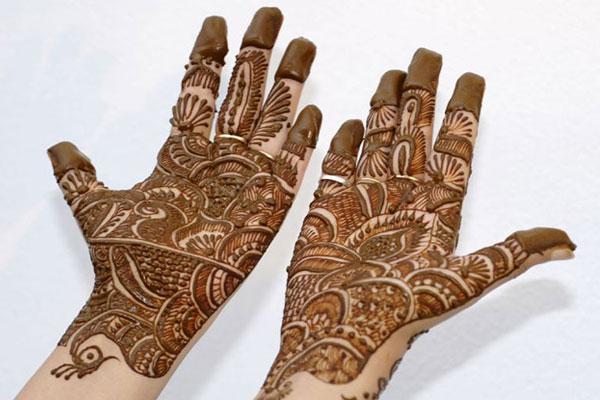Karva Chauth Mehendi Designs