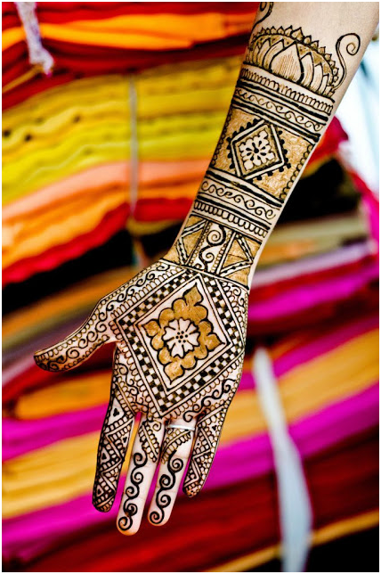 Karva Chauth full hand Mehendi Designs