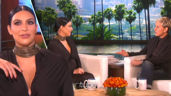 Kim Kardashian Guest From Hell On Ellen DeGeneres Show