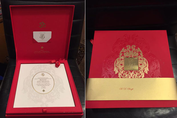 Released! Harbhajan Singh Weds Geeta Basra Marriage Invitation Cards Date Time Venue