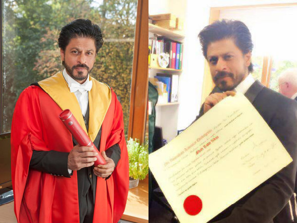 Shah Rukh Khan To Receives Honorary Doctorate Degree From Edinburgh University