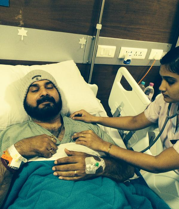 Sherry Guru Former Cricketer Navjot Singh Sidhu Admitted To Hospital