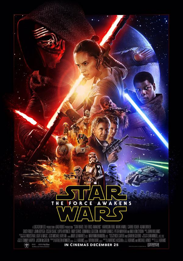 Star Wars : The Force Awakens First Poster Release Date
