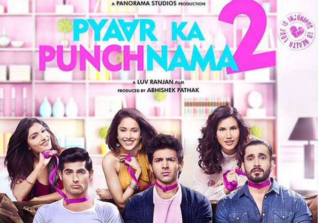 Sunday PKP2 Film 1st Weekend Pyaar Ka Punchnama 2 Movie 3rd Day Box Office Collection