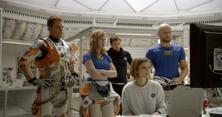 The Martian Set Movie 1st Weekend Box Office Collection Record Chart