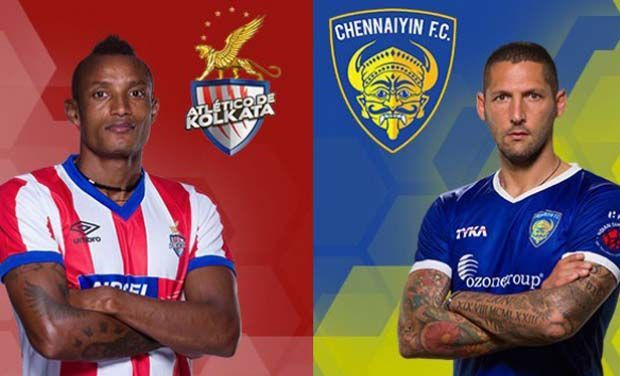 Today ISL Kolkata vs Chennai 1st Match Live Streaming Score Result Winner Highlights 2015