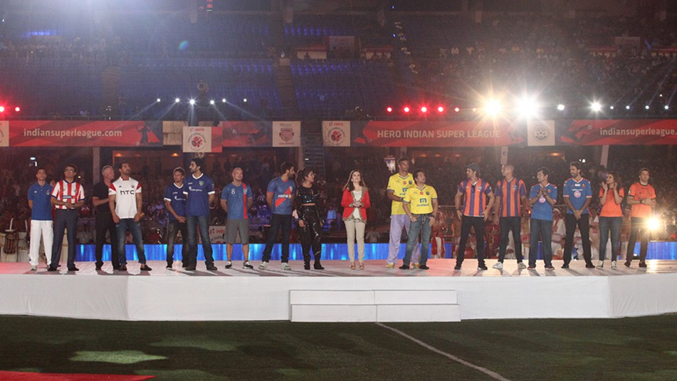 Watch ISL 2015 Season 2 Opening Ceremony Live Stream Aishwarya Rai Bachchan Performance Video