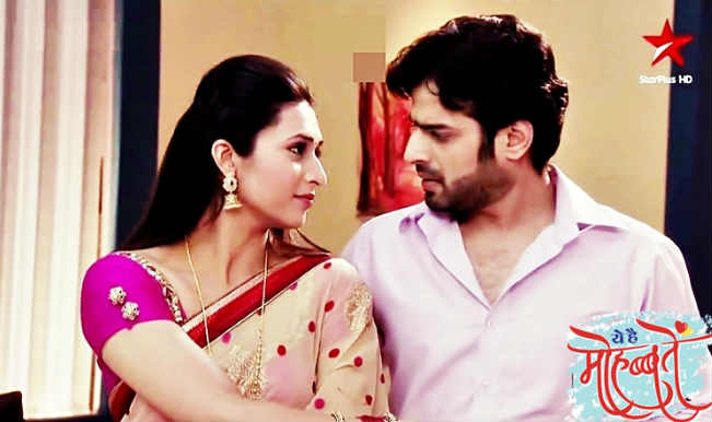 Star Plus Yeh Hai Mohabbatein 17th December 2015 Episode Raman Takes Ishita To Ashram