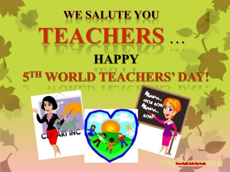 World Teacher Day Images