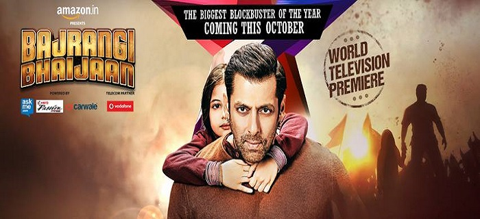 Watch World Tv Premiere of Bajrangi Bhaijaan 11th October 2015 on Star Gold