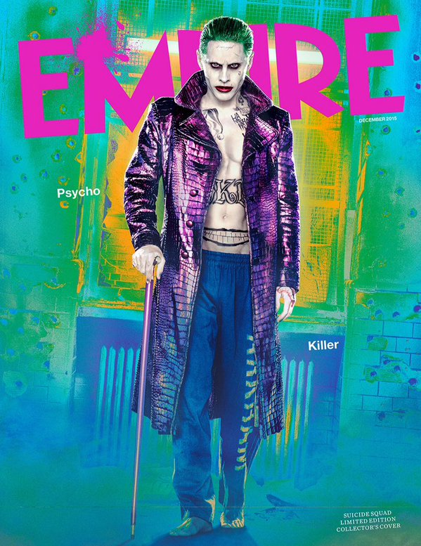 New Joker Photos From Suicide Squad Movie Released