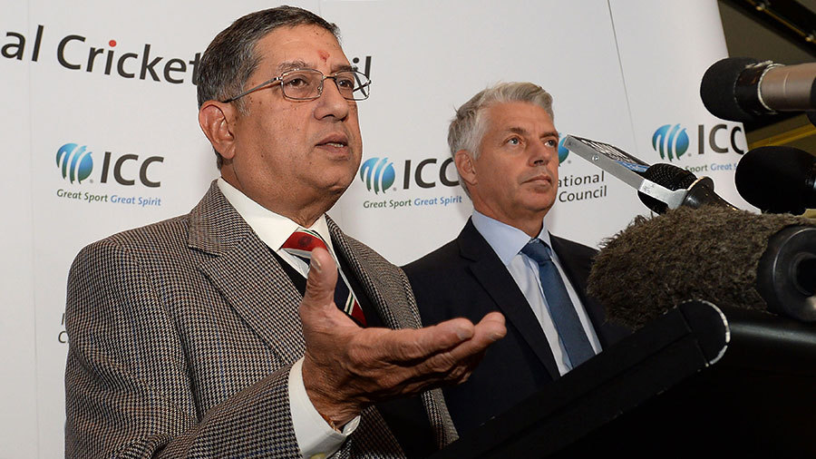 N. Srinivasan Expelled as International Cricket Council Chairman, BCCI President Shashank Manohar will hold the Place