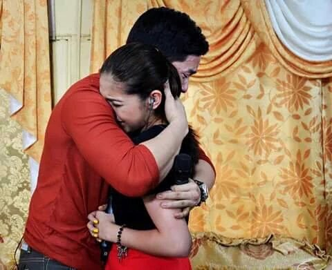 Fans were left heartbroken with emotional scene, which saw Alden and Yaya Dub hugging like there was no tomorrow.