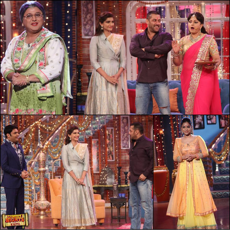 Watch Comedy Night With Kapil 8th Nov 2015 Episode Guets Salman Khan & Sonam Kapoor
